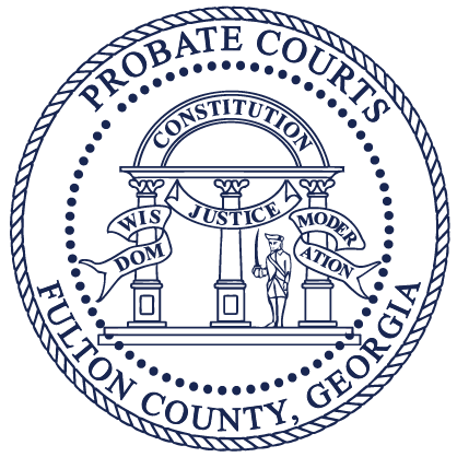 logo for the Fulton County Probate Court