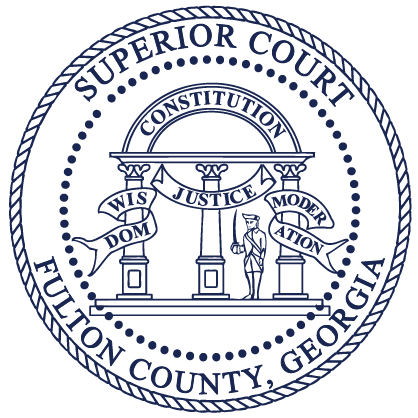 logo for the Fulton County Superior Court