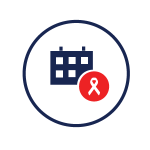Icon representing the initiative to end AIDS by 2030