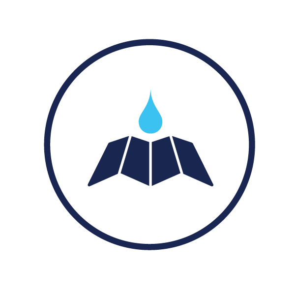 icon representing drought status