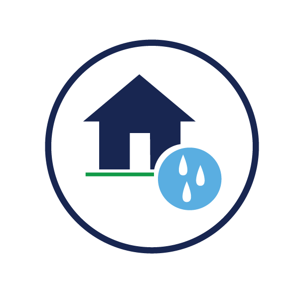 icon representing establishing new water services