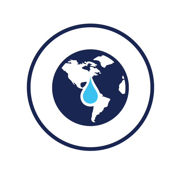 icon representing water conservation