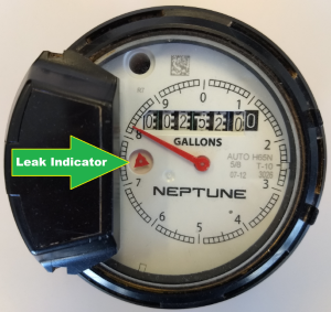 Water leakage meter small